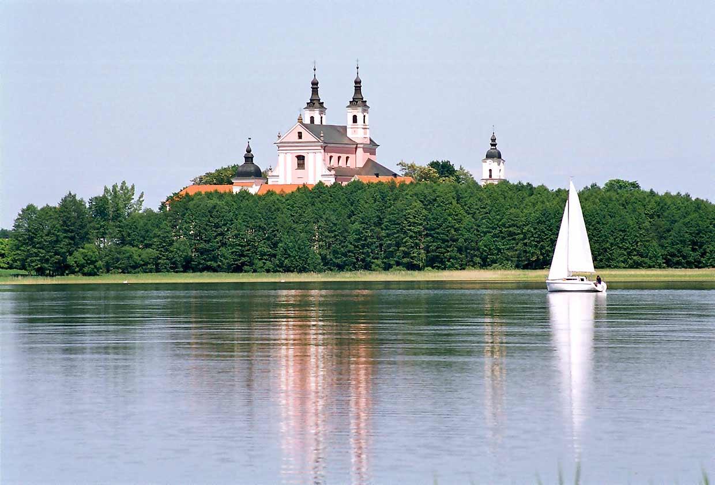 Jezioro Wigry i Klasztor - Spływy kajakowe