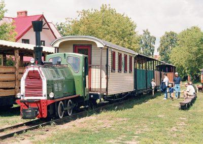 Wigierska Kolejka Wąskotorowa - stacja w Płocicznie